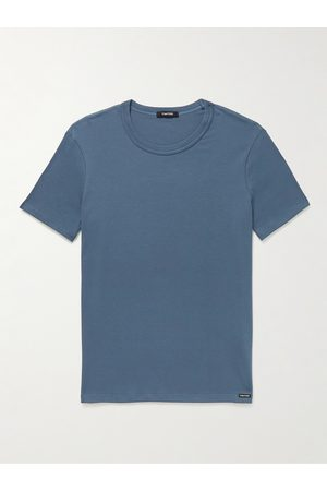 Tom Ford Uomo Magliette intime - Stretch-Cotton Jersey T-Shirt