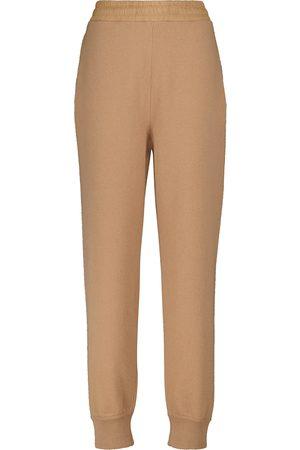 Moncler Pantaloni sportivi in lana e cashmere