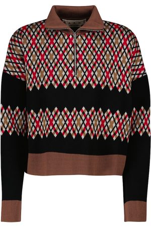 Marni Pullover cropped a rombi