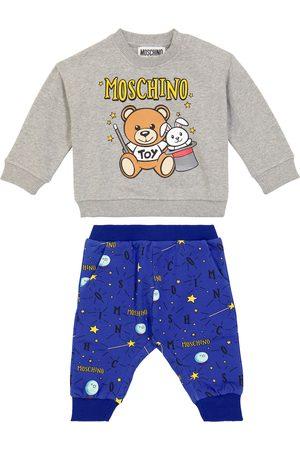 Moschino Kids Baby - Tuta in cotone con stampa