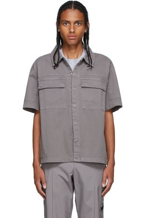 A-cold-wall* Grey Short Sleeve Over Shirt