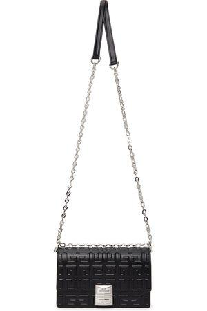 Givenchy Donna Portafogli e portamonete - Black Embossed Small 4G Chain Bag