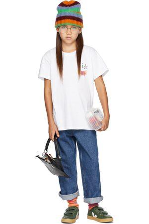 Kids Worldwide T-shirt a maniche corte - SSENSE Exclusive Kids Graphic 'Kids Rule' T-Shirt