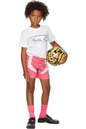 Martine Rose SSENSE Exclusive Kids White Classic T-Shirt