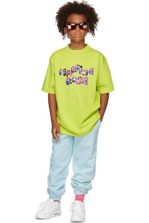 Martine Rose SSENSE Exclusive Kids Green Brittle T-Shirt