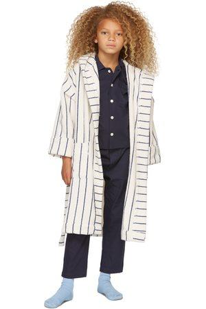 Tekla Kids SSENSE Exclusive Kids Navy Sleepwear Set
