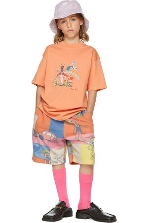 Martine Rose T-shirt a maniche corte - SSENSE Exclusive Kids Orange Brittle T-Shirt