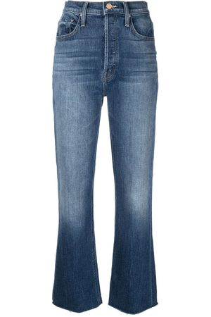 MOTHER Jeans dritti a vita alta