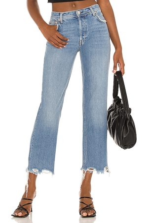 Free People Donna Jeans - Maggie Jean in - Blue. Size 24 (also in 25, 26, 27, 28, 29, 30, 31, 32).