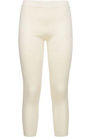 AZ FACTORY Donna Leggings & Treggings - Leggings In Techno Maglia