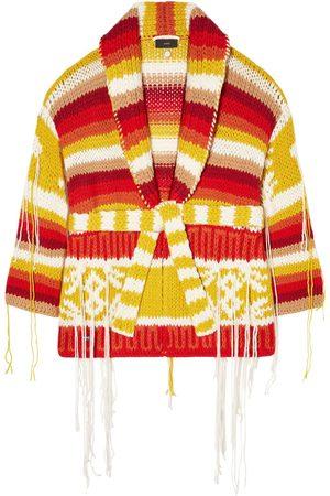 ALANUI Cardigan Colors Of South America In Lana