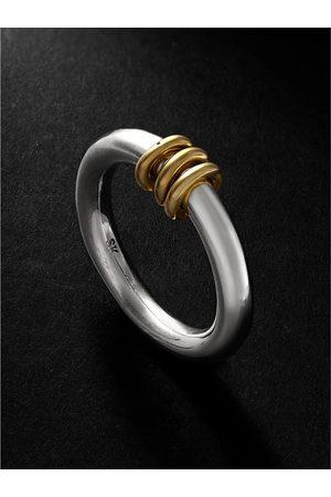 Spinelli Kilcollin Kane SG White and Yellow Gold Ring