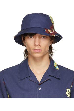 A.P.C. Navy Alex Bucket Hat