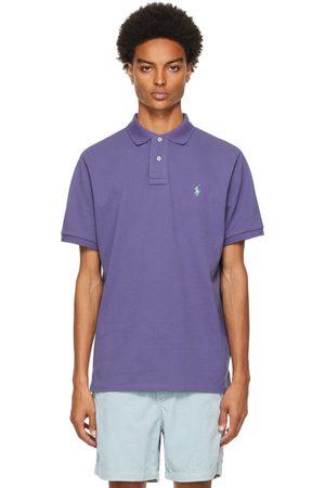 Polo Ralph Lauren Uomo Polo - Purple Classic Fit 'The Iconic' Polo