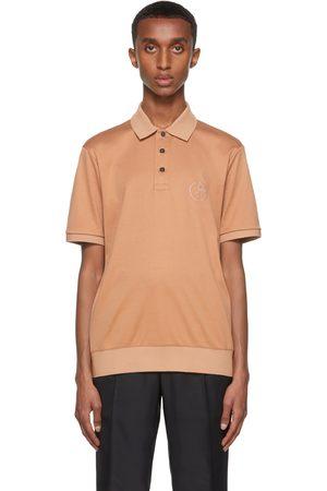 Giorgio Armani Orange Organic Cotton Interlock Polo