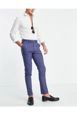 ASOS Pantaloni da abito skinny navy