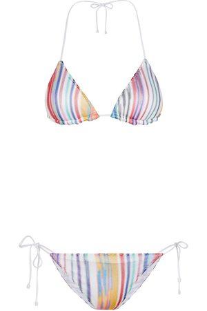Missoni Bikini a triangolo a righe