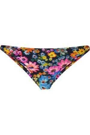 Stella McCartney Slip bikini con stampa floreale