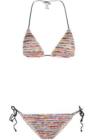 Missoni Bikini a triangolo in maglia