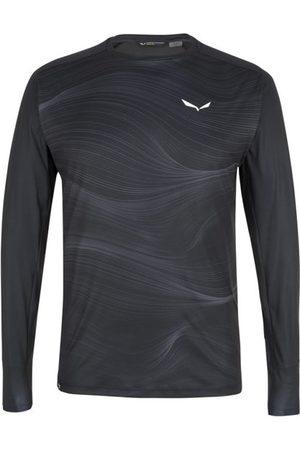 Salewa Uomo T-shirt a maniche lunghe - Seceda Dry M L/S - maglia funzionale a maniche lunghe - uomo