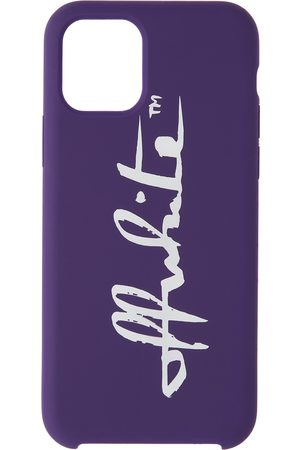 OFF-WHITE Cellulare - Purple Logo iPhone 11 Pro Case