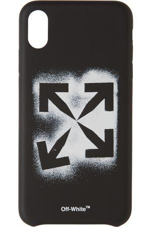 Off-White Cellulare - Black Stencil iPhone XS Max Case