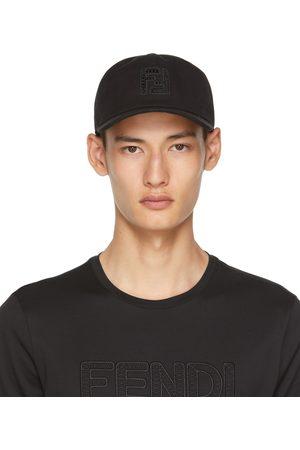 Fendi Uomo Cappelli con visiera - Black 'FF' Cap