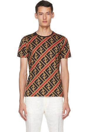 Fendi Uomo T-shirt - Brown 'Forever ' T-Shirt