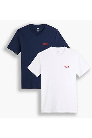 Levi's T shirt girocollo stampata Confezione da 2 / White/Blue