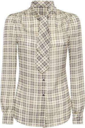 Saint Laurent Camicia In Misto Seta