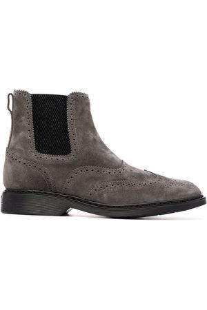 Hogan Uomo Stivali - Stivali con pannelli elastici laterali