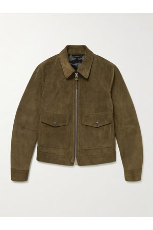 Tom Ford Uomo Giacche di pelle - Suede Blouson Jacket