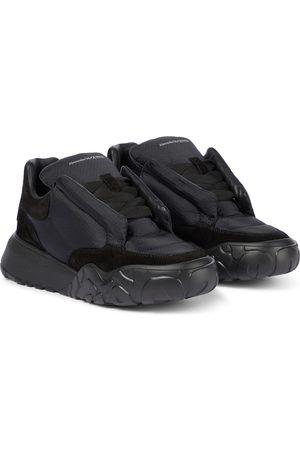 Alexander McQueen Sneakers Puffy con suede