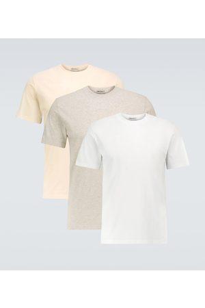 Maison Margiela Confezione da tre T-shirt in cotone