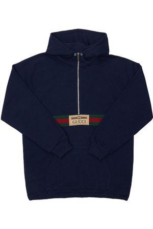 Gucci Giacca In Cotone Con Logo