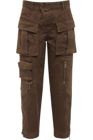 Dsquared2 Pantaloni Cargo In Twill Di Cotone Stretch