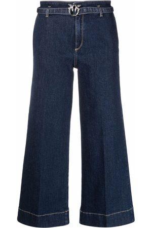 Pinko Donna Jeans a vita alta - Culottes a vita alta