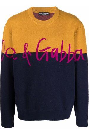 Dolce & Gabbana Maglione a girocollo con stampa