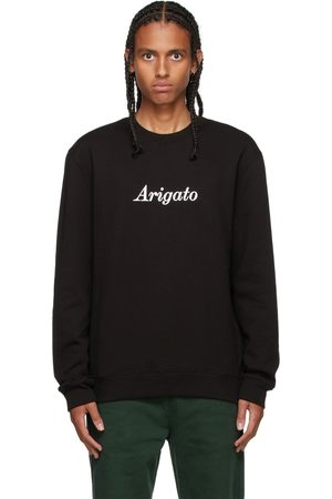 Axel Arigato Black Script Logo Sweatshirt