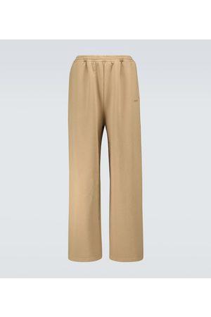 Balenciaga Pantaloni sportivi in jersey di cotone