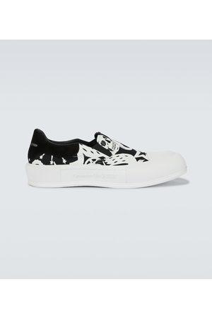 Alexander McQueen Sneakers slip-on Skull
