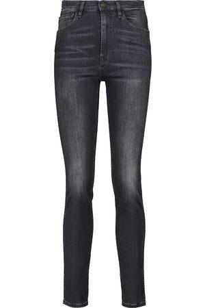3x1 Jeans slim W3 Straight Authentic a vita alta