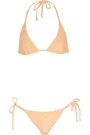 Lisa Marie Fernandez Donna Bikini - Bikini Pamela in spugna di cotone stretch