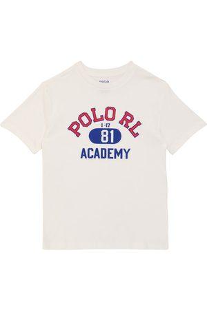 Ralph Lauren Bambino Polo - T-shirt in cotone con logo