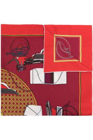 Hermès Sciarpe - Foulard Les Voltures A Trasformation in seta Pre-owned anni '90