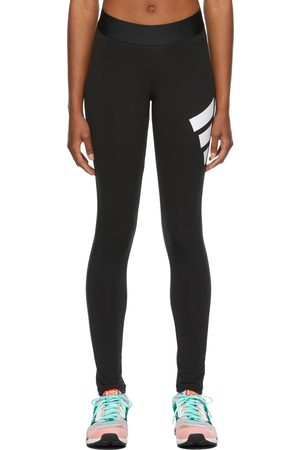 adidas Donna Leggings sportivi - Black Future Icons 3 Bar Sport Leggings