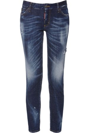 Dsquared2 Jeans Skinny Vita Media In Denim