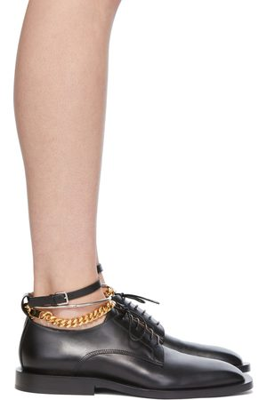 Jil Sander SSENSE Exclusive Black Chain Loafers