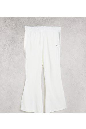 PUMA Icons 2.0 - Pantaloni a fondo ampio bianchi