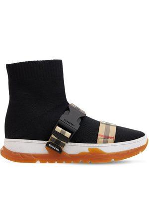 Burberry Bambino Sneakers - Sneakers Slip-on In Maglia